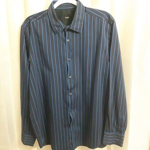 Hugo Boss Long Sleeve Button Up Shirt